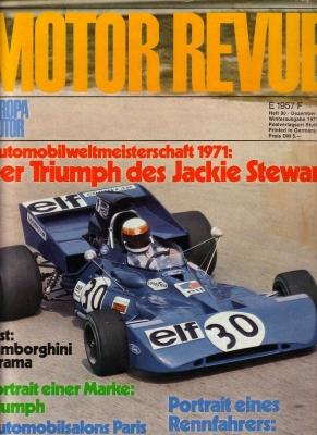 Motor Revue Nr.80 4.1971