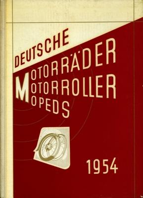 Deutsche Motorräder, -roller und Mopeds 1954