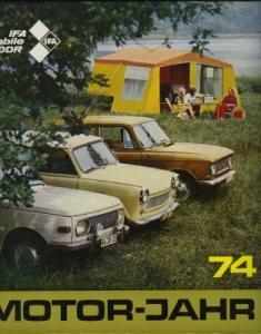 Motor-Jahr DDR-Jahresband 1974