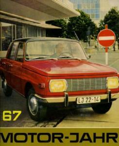 Motor-Jahr DDR-Jahresband 1967