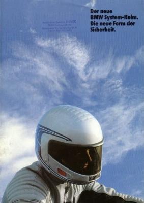 BMW System-Helm Prospekt 1985