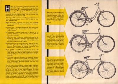 nsu fahrrad prospekt nr nsu4640 oldthing. Black Bedroom Furniture Sets. Home Design Ideas