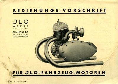 Ilo 1 Zylinder Kurz-Bedienungsanleitung 8.1938