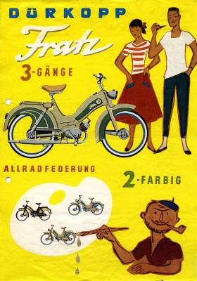 Dürkopp Fratz Prospekt 1960/61
