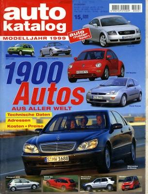 Auto Katalog 1999 Nr.42