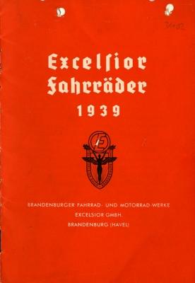 Excelsior Fahrrad Prospekt 1939