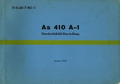 Argus AS 410 A-1 Durchsichtbild-Darstellung 1941