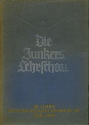 Junkers Lehrschau Fluzeugforschung 1910-1940