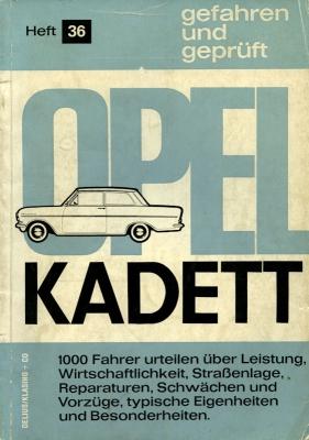 Delius + Klasing Opel Kadett A gefahren und geprüft