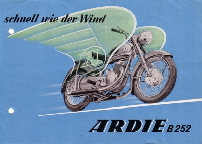 Ardie B 252 Prospekt 1953