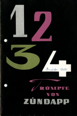 Zündapp Programm 1956/7