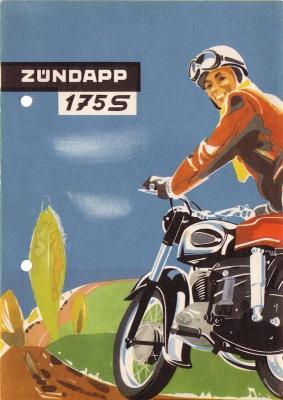 Zündapp 175 S Prospekt 1956