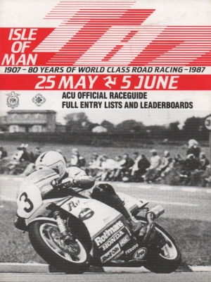 Programm Isle of Man TT May/June 1987