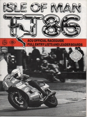 Programm Isle of Man TT May/June 1986