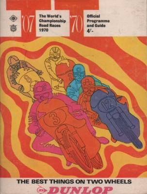 Programm Isle of Man TT June 1970