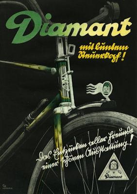 Diamant Fahrrad Prospekt 1936