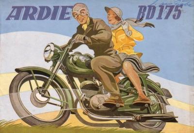Ardie BD 175 Prospekt 1951