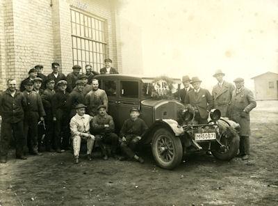 Foto Pkw unbekannt 1920er Jahre