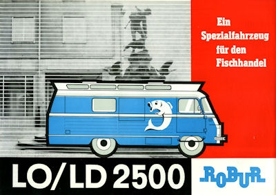 Robur LO LD 2500 Spez.-Fahrzeug Prospekt 1966