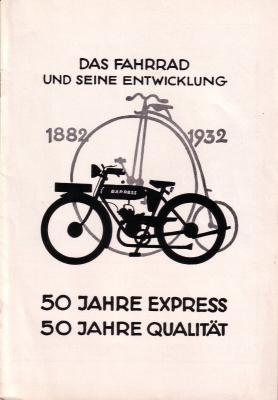 Express Broschüre -50 Jahre Express- 1932