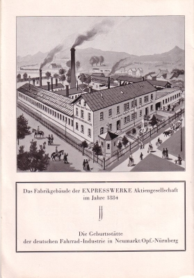 Express Broschüre -50 Jahre Express- 1932 1