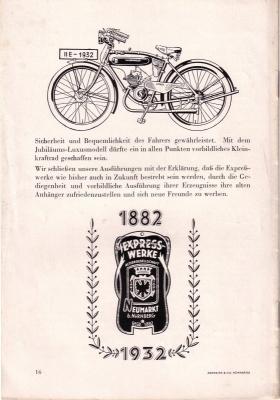Express Broschüre -50 Jahre Express- 1932 7