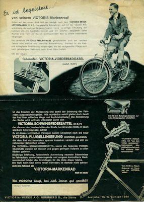 Victoria Fahrrad Programm 1938