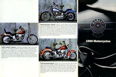 Harley-Davidson Programm 1990