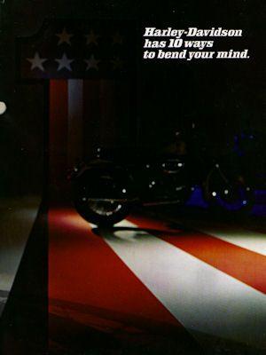 Harley-Davidson Programm 1971