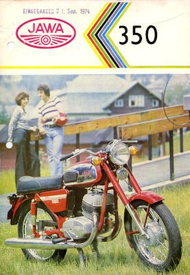 Jawa 350 ccm Prospekt 1974