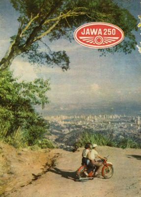 Jawa 250 ccm Prospekt 1953