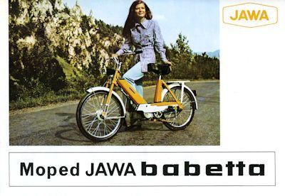 Jawa Babetta Prospekt 1972