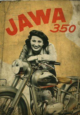 Jawa 350 ccm Prospekt 7.1949 f