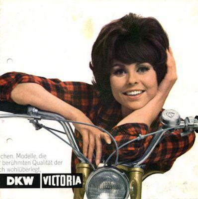 Victoria Motorrad und Fahrrad Programm ca. 1969