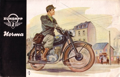 Zündapp Norma Prospekt 1952