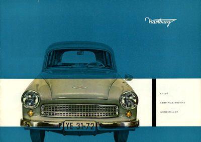 Wartburg 311 Prospekt 1960