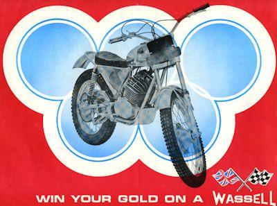 Wassell Trials 125 ccm Prospekt 1970er Jahre