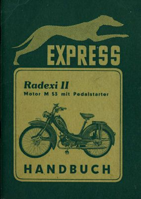 Express Radaxi II Bedienungsanleitung 4.1956