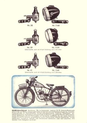 bauer fahrrad prospekt 1930er jahre nr bauer070. Black Bedroom Furniture Sets. Home Design Ideas