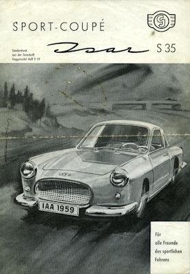 Glas Isar Sport Coupé Test 1959
