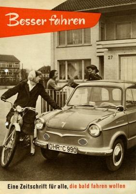 NSU Besser fahren mit NSU 1958