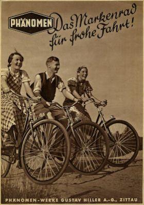 Phänomen Fahrrad Prospekt 5.1938