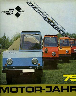 Motor-Jahr DDR-Jahresband 1975