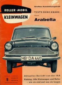 Rollerei und Mobil / Roller Mobil Kleinwagen 1959 Heft 9