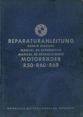 BMW R 50 60 69S Reparaturanleitung 6.1961