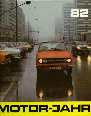 Motor-Jahr DDR-Jahresband 1982