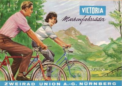 Victoria Fahrrad Programm ca. 1963