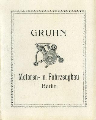 Gruhn Programm ca. 1922