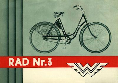 Wanderer Fahrrad Prospekt 2.1932