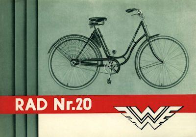 Wanderer Fahrrad Prospekt 4.1931
